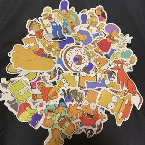 Other - The Simpsons Sticker (18pcs)